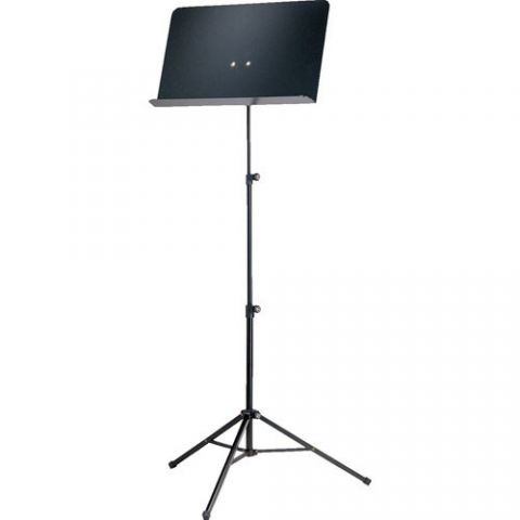 K&M 10068 Aluminum Sheet Music Stand (Black) by KM