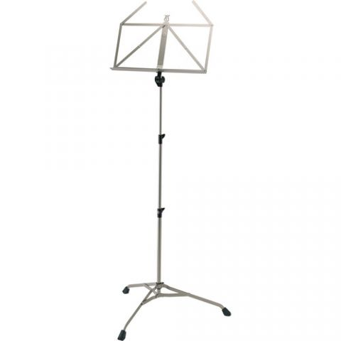 K&M 107 Starline Music Stand (Nickel-Colored) by KM