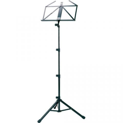 K&M 10810 Steel Music Stand (Black) by KM
