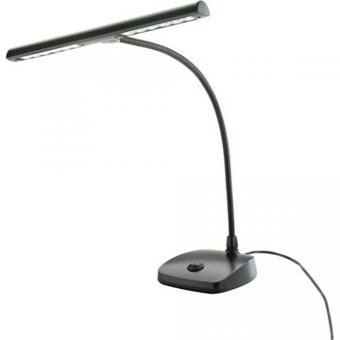 K&M 12297 LED Piano Lamp (Black) by KM