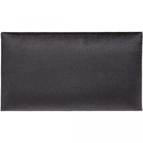 K&M 13800 Velvet Seat Cushion (Black) by KM