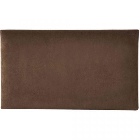 K&M 13801 Velvet Seat Cushion (Brown) by KM
