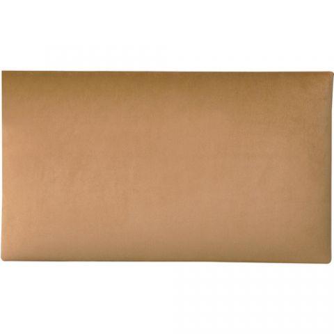 K&M 13803 Velvet Seat Cushion (Hazelnut) by KM