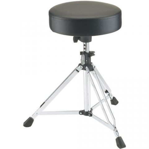 K&M 14020 Picco Drummer's Throne (Chrome) by KM