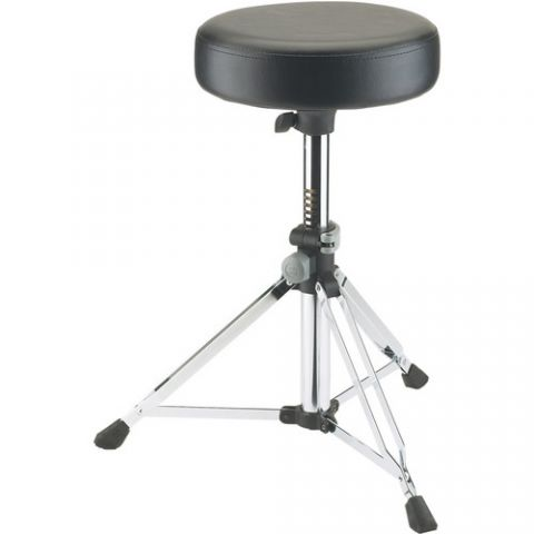 K&M 14030 Grande Drummer's Throne (Chrome) by KM