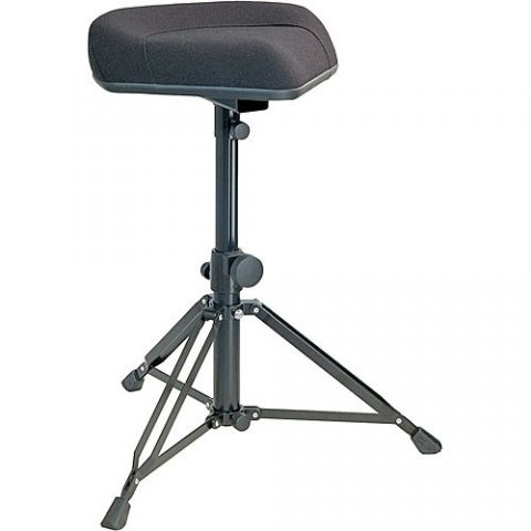 K&M 14055 Ergonomic Drummer's Throne (Imitation Leather) by KM