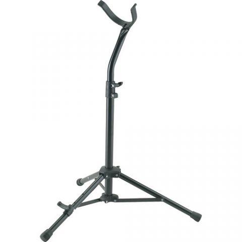 K&M 14410-000-55 Baritone Saxophone Stand (Black) by KM