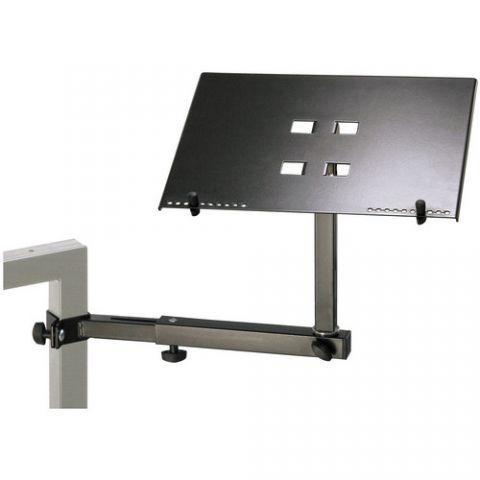 K&M 18815 Laptop Holder (Black) by KM