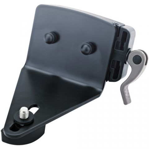K&M 18873 Universal Holder for Spider Pro (Black) by KM