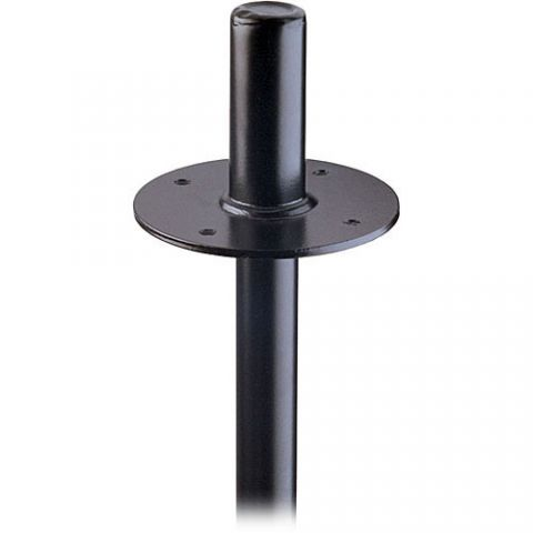 K&M 19665 Flange Adapter for 21420 Speaker Stand (Black) by KM