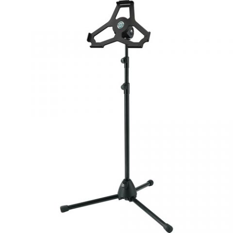 K&M Height-Adjustable Stand for iPad Air 2 (Black) by KM