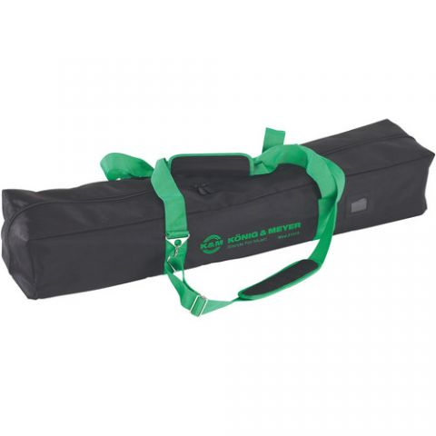 K&M 21315 Carrying Case for Microphone/ 6 Boom Stands (Black) by KM