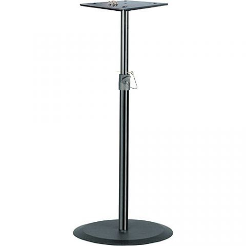 """K&M 26740 37-56"""" Steel Monitor Stand by KM"""