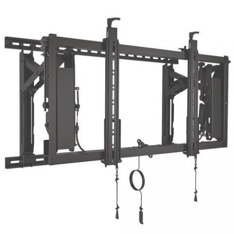 Chief ConnexSys'Ñ¢ Video Wall Landscape Mounting System with Rails by Chief