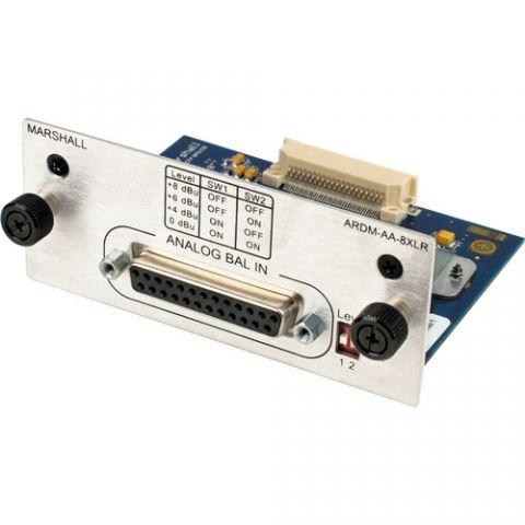 Marshall Electronics  ARDM-AA-8XLR Module for AR-DM2-L Audio Monitor by Marshall Electronics