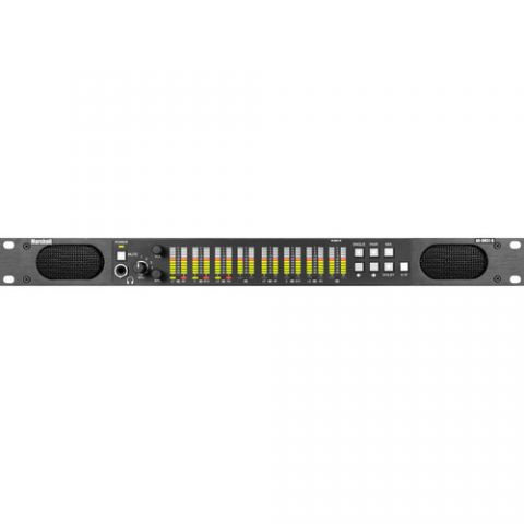 Marshall Electronics  AR-DM31-B 16-Channel Digital Audio Monitor with Tri-Color LED Bar Graphs (1 RU) by Marshall Electronics