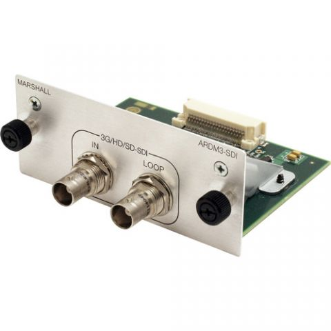 Marshall Electronics  3G/HD/SD-SDI Input/Loop-Through Output Module for AR-DM32-B Monitor by Marshall Electronics