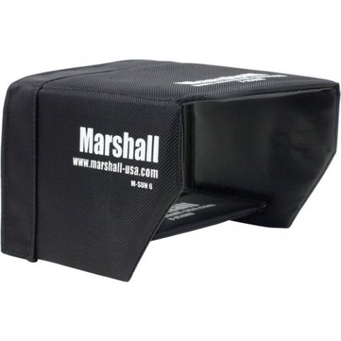 "Marshall Electronics  Sun Hood for M-CT6 6.2"" Field Monitor by Marshall Electronics"