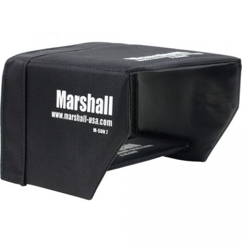 "Marshall Electronics  Sun Hood for M-CT7 7"" Camera Monitor by Marshall Electronics"