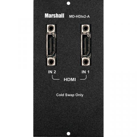 Marshall Electronics  Dual HDMI Input Module (A Type) by Marshall Electronics