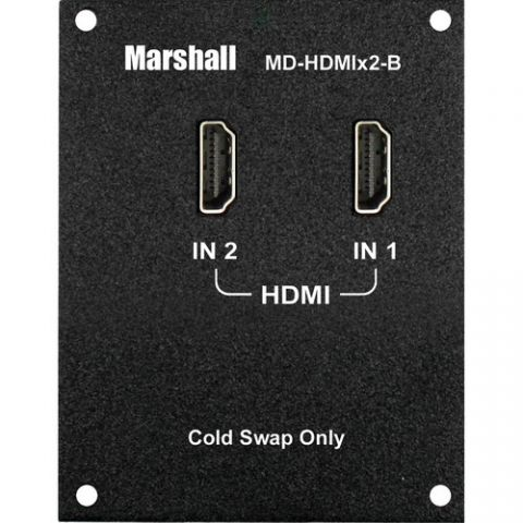 Marshall Electronics  Dual HDMI Input Module (B Type) by Marshall Electronics