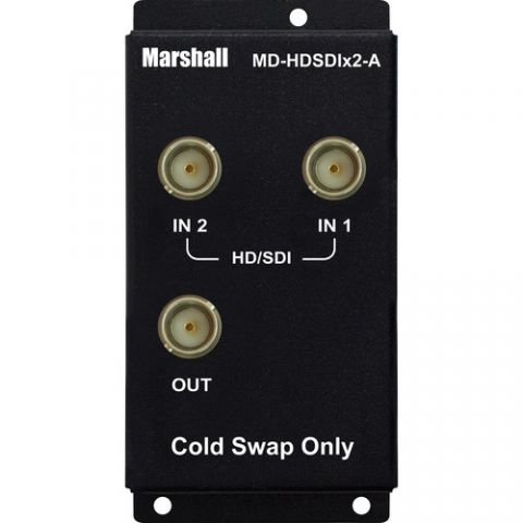 Marshall Electronics  Dual HD-SDI Input Module ('A'-type) by Marshall Electronics