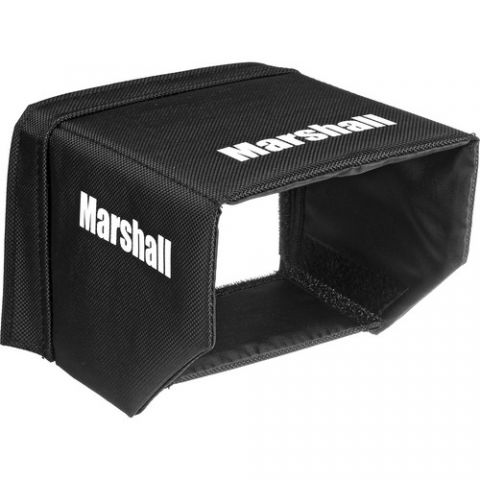 "Marshall Electronics  V-H50 5"" Monitor Hood by Marshall Electronics"