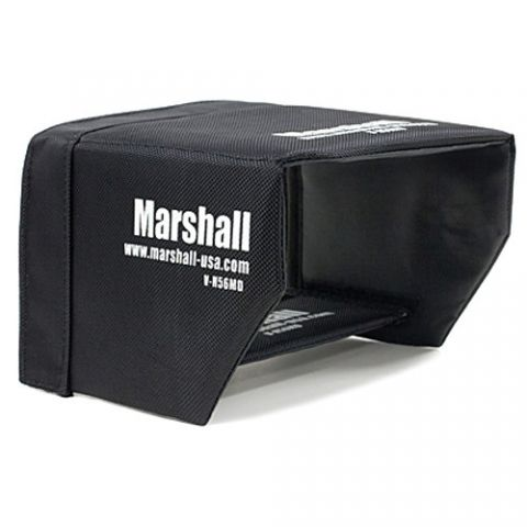 "Marshall Electronics  Sun Hood for V-LCD56MD 5.6"" Camera Monitor by Marshall Electronics"