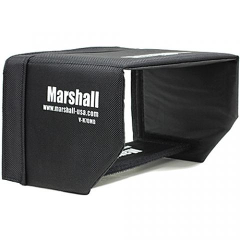 "Marshall Electronics  Sun Hood for V-LCD70MD 7"" Camera Monitor by Marshall Electronics"