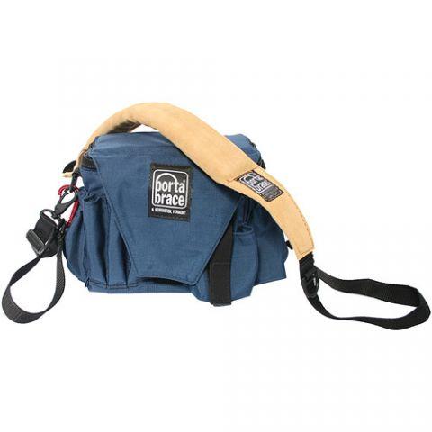 Porta Brace AC-3 Assistant Camera Pouch with Shoulder Strap (Large, Signature Blue) by Porta Brace