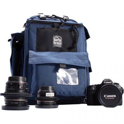 Porta Brace BC-1N Backpack Camera Case (Signature Blue) by Porta Brace