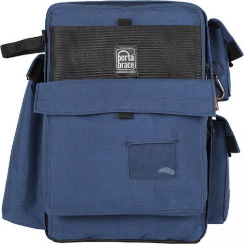 Porta Brace BC-2N Large D-SLR Backpack Camera Case (Signature Blue) by Porta Brace
