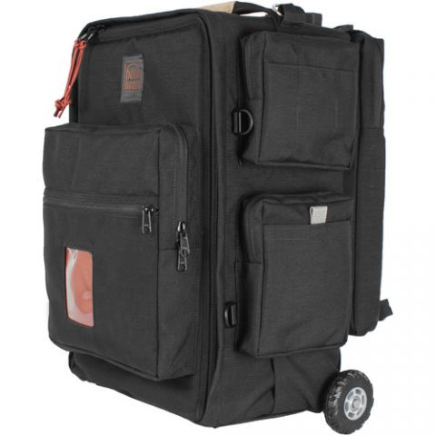 Porta Brace BK-2NROR Backpack Camera Case with Wheels by Porta Brace