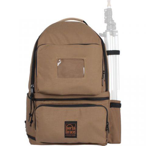 Porta Brace BK-HIVEC Camera Hive Backpack & Slinger (8 Lens Cups) (Desert Coyote) by Porta Brace