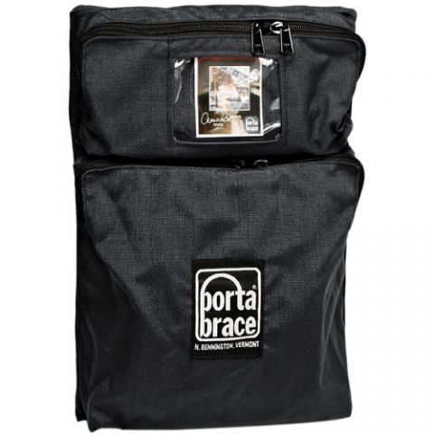 Porta Brace BK-P2MB Front Two-Pocket Module - for Porta Brace Local or Extreme Backpacks (Black) by Porta Brace