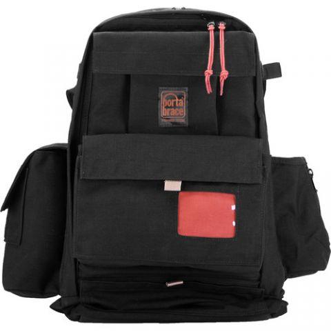 Porta Brace BKS-2XM Expandable Backpack Camera Case (Black) by Porta Brace