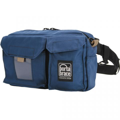 Porta Brace BP-1 Waist Belt Production Pack - for Camcorder Batteries, Tapes and Accessories (Blue) by Porta Brace