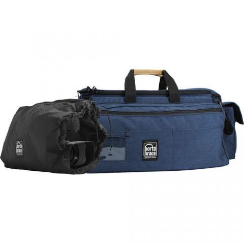 Porta Brace CAR-3/BK-ZC Rigid-frame Cargo Case with padded backpack camera pouch by Porta Brace