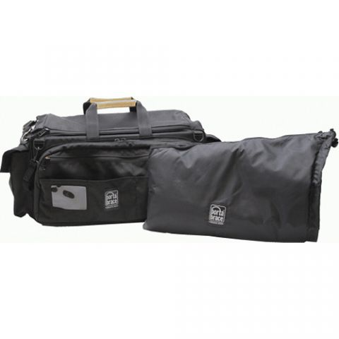 Porta Brace CAR-3B/BK-ZC Rigid-frame Cargo Case with padded backpack camera pouch by Porta Brace