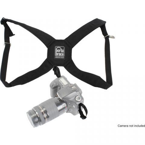 Porta Brace HR-DSLR Padded Nylon Camera Harness (Black) by Porta Brace