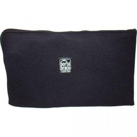 Porta Brace PB-CAMML Padded Accessory Pouch Set (Medium/Large, Black) by Porta Brace