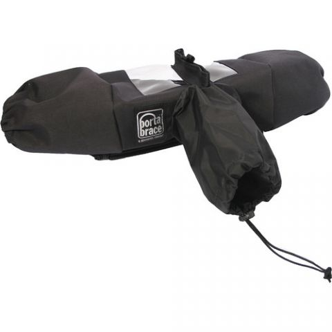Porta Brace DSLR Rain Slicker (Black) by Porta Brace