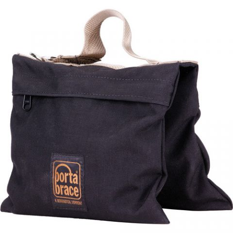 Porta Brace SAN-2B Black 15 Lb Sandbag (Empty) by Porta Brace