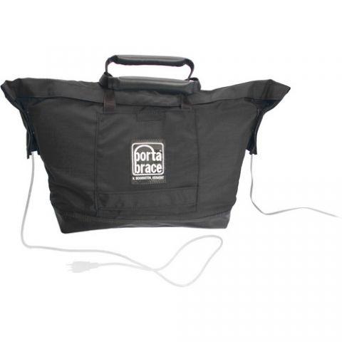 Porta Brace SP-1BBAT SP-1BAT Battery Sack Pack (Midnight Black) by Porta Brace
