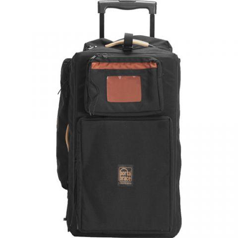 Porta Brace WPC-1DSLRB Wheeled DSLR Case (Black) by Porta Brace