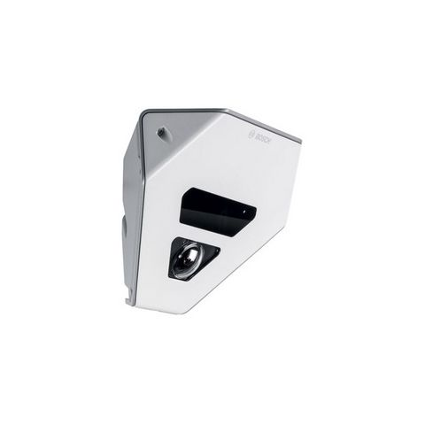 Bosch NCA-CMT-GF Surveillance Camera Face Plate, Gray, With LED Window and Transparent Bubble by Bosch Security