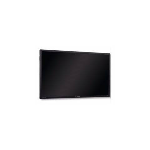 Bosch UML-553-90 55 in. Full HD Color LED Monitor, 1920x1080 Resolution, VGA, DVI, HDMI, CVBS, Audio, 120/230 V AC, 50/60 Hz, 50/60 Hz, Stand Sold Separate by Bosch Security