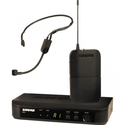 Shure  BLX14/P31 Headset Wireless Microphone System (J10: 584 - 608 MHz) by Shure