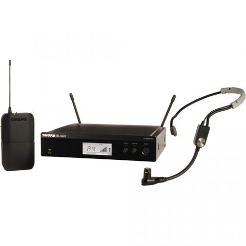 Shure  BLX14R/SM35 Headworn Wireless System (J10: 584 - 608 MHz) by Shure