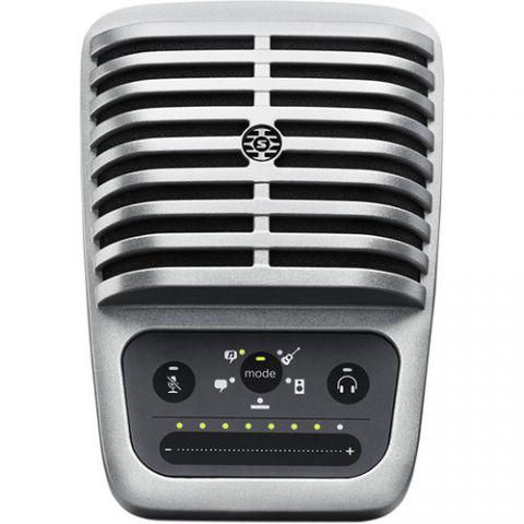 Shure  MOTIV MV51 Digital Large-Diaphragm Condenser Microphone (Silver) by Shure